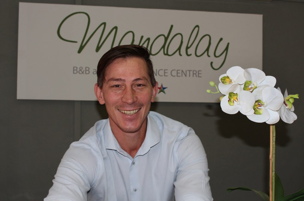 Ettiene Botha, Mandalay owner-manager